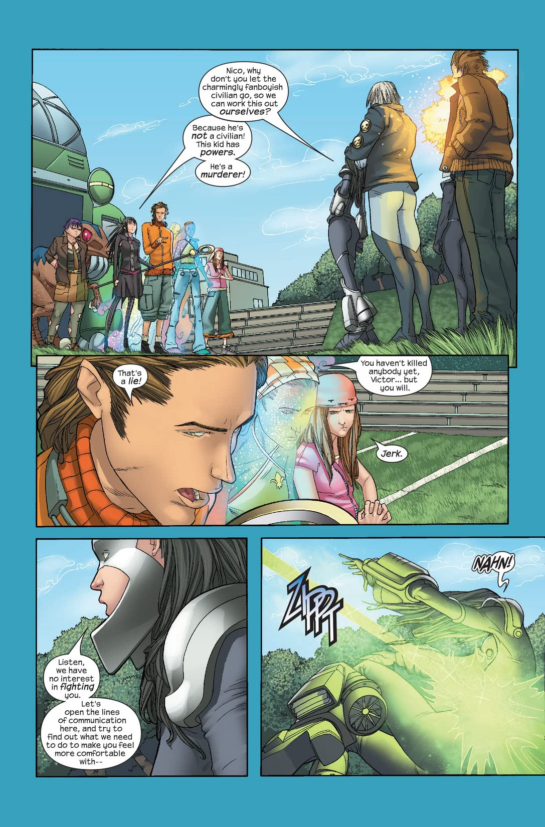 Runaways (2005-2008) #3