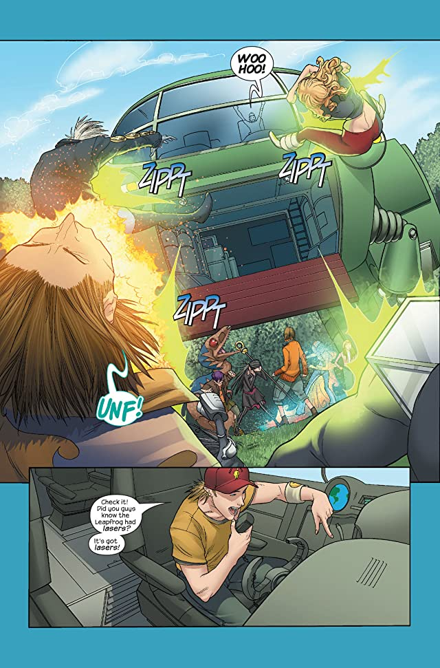 click for super-sized previews of Runaways (2005-2008) #3