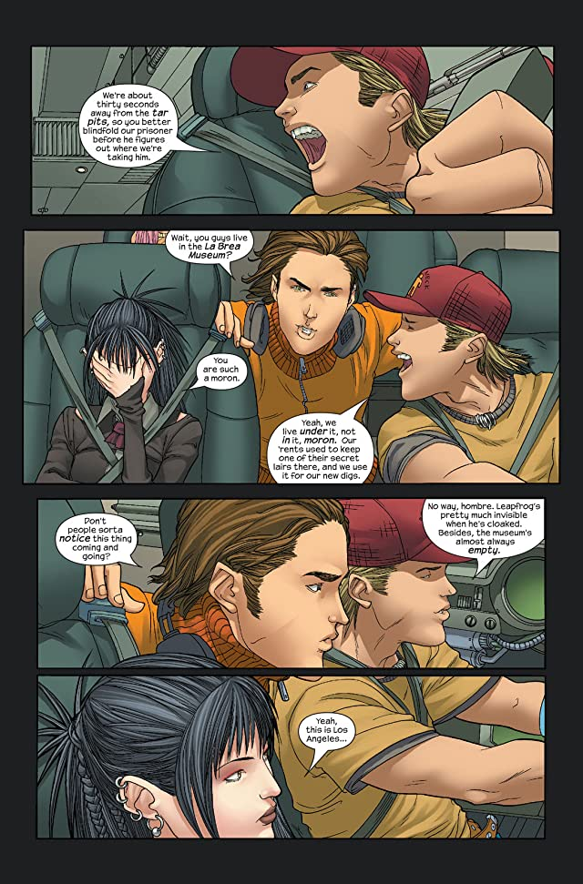 click for super-sized previews of Runaways (2005-2008) #4