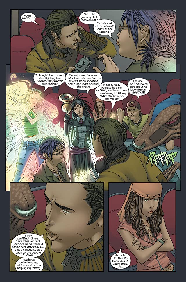 click for super-sized previews of Runaways (2005-2008) #5