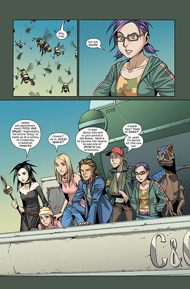 click for super-sized previews of Runaways (2005-2008) #7