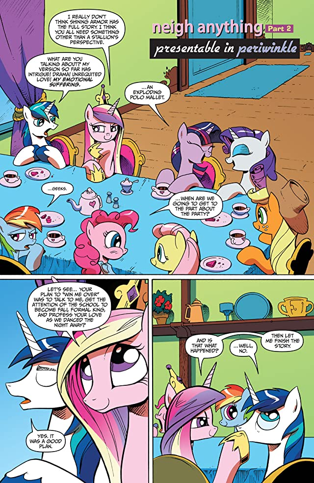 click for super-sized previews of My Little Pony: Friendship Is Magic #12