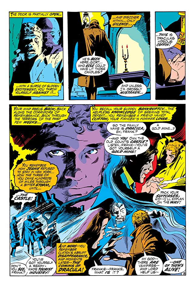 click for super-sized previews of Tomb of Dracula (1972-1979) #2