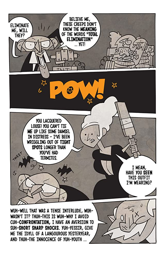 click for super-sized previews of BOO! Halloween Stories #4