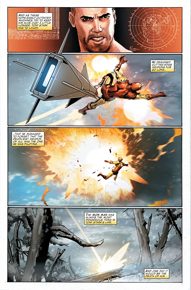 click for super-sized previews of Invincible Iron Man Vol. 3: World's Most Wanted Book 2