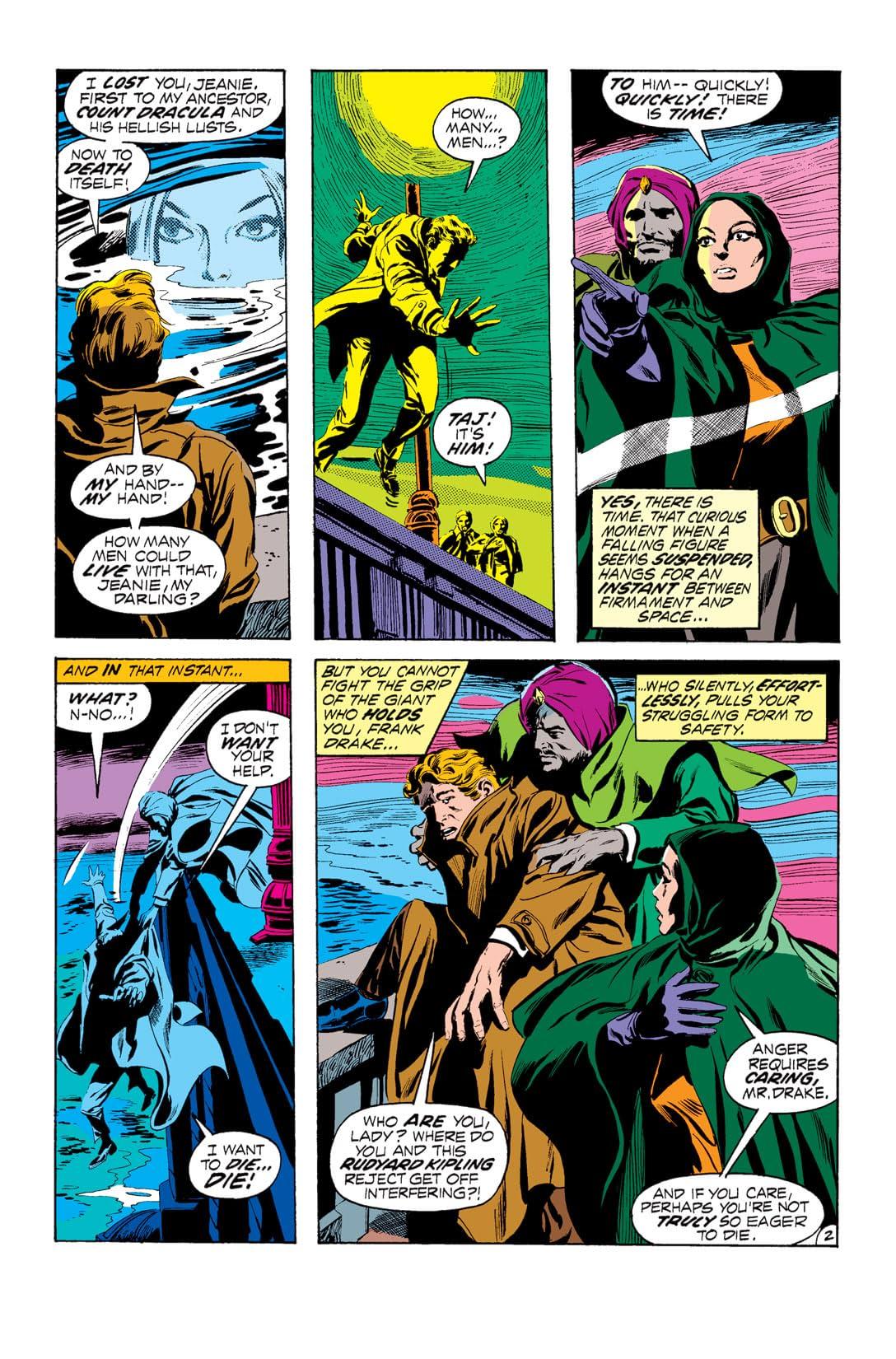 Tomb of Dracula (1972-1979) #3