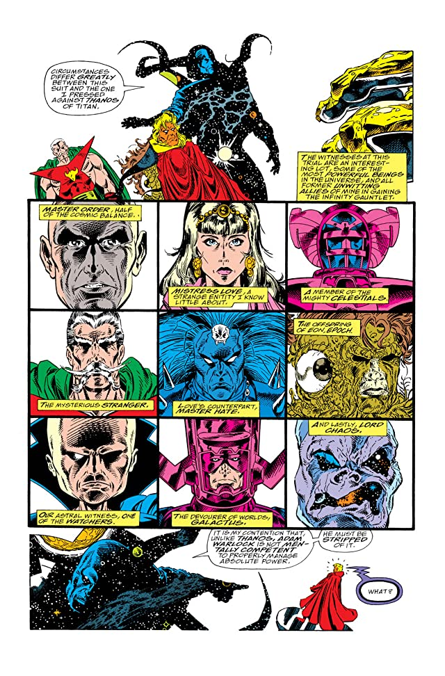 click for super-sized previews of Warlock and the Infinity Watch #1