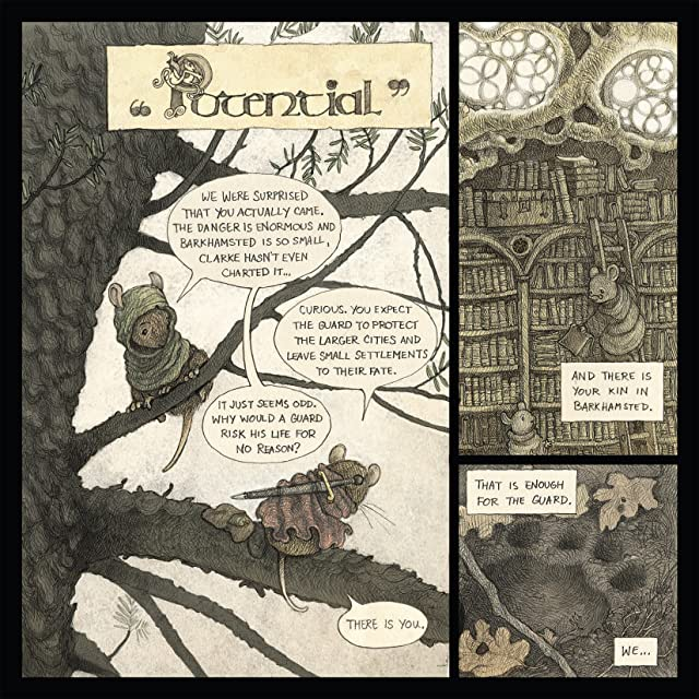 click for super-sized previews of Mouse Guard: Legends of the Guard Vol. 1