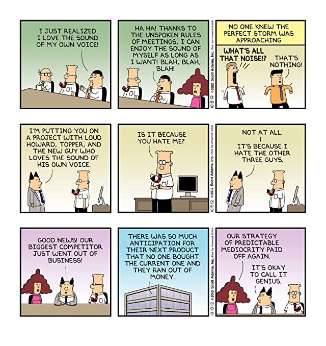 click for super-sized previews of Dilbert Vol. 41: I Sense A Coldness To Your Mentoring