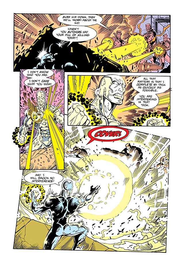Silver Surfer (1987-1998) #62