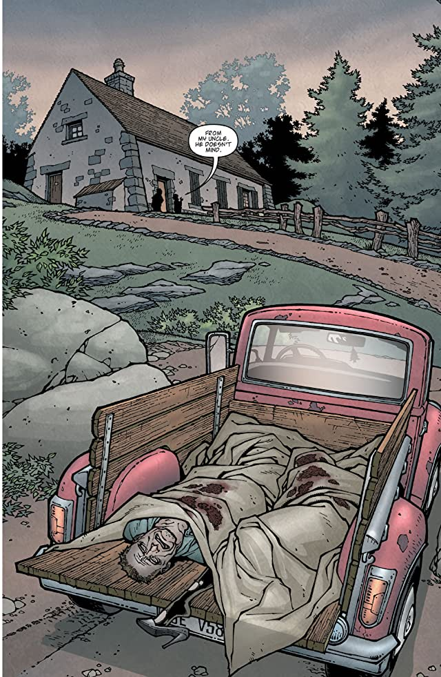 click for super-sized previews of Locke & Key Vol. 1: Welcome To Lovecraft