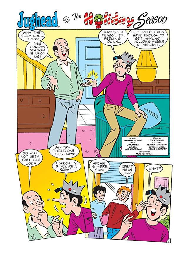 click for super-sized previews of Jughead Double Digest #197