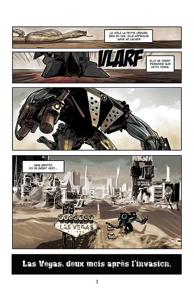 click for super-sized previews of Chaos Team Vol. Zero: La vengeance du béret vert