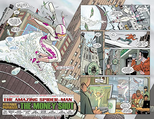 click for super-sized previews of Spider-Man Vol. 3: Brand New Day