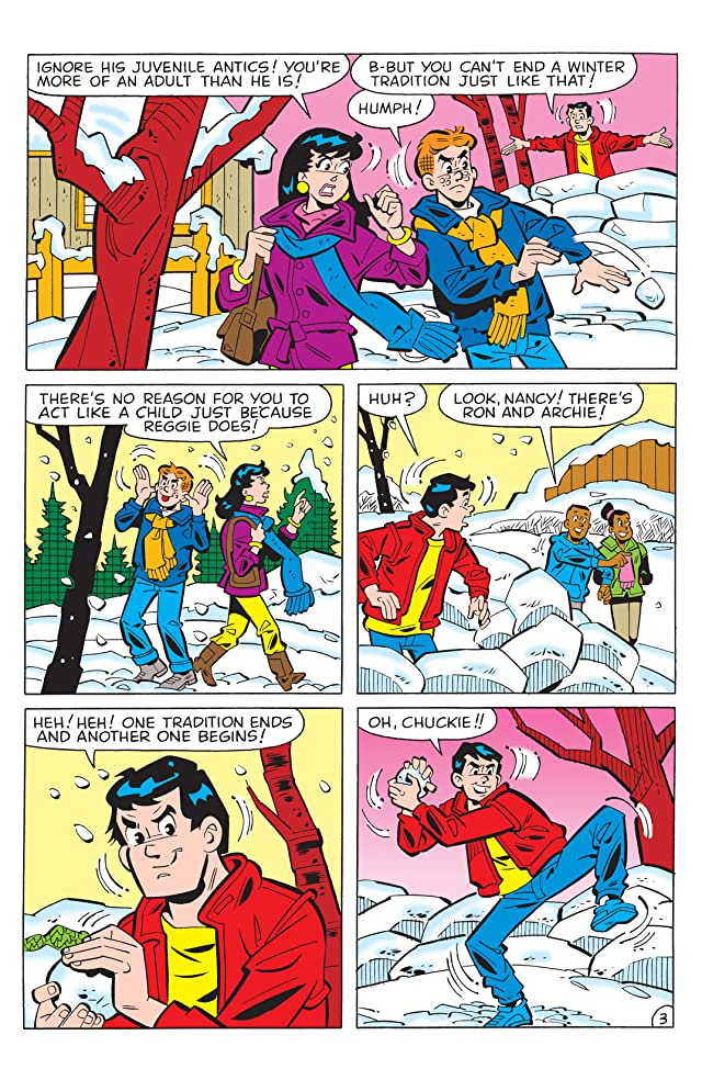 click for super-sized previews of PEP Digital #34: Archie Winter Wonderland