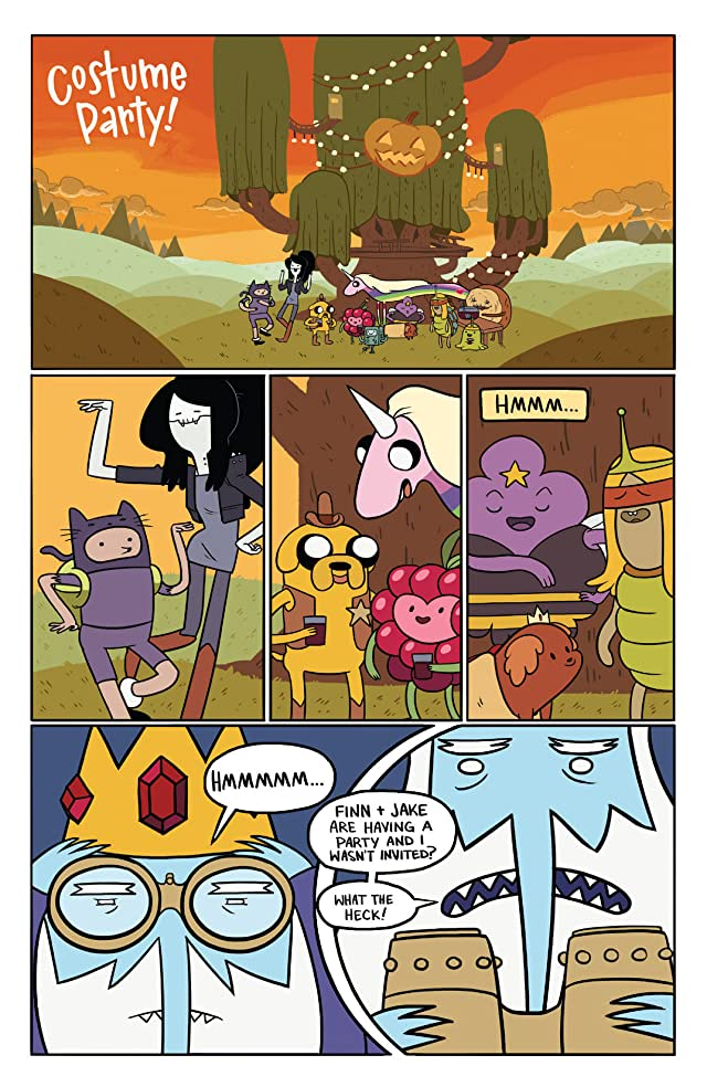 click for super-sized previews of Adventure Time 2013 Spoooktacular