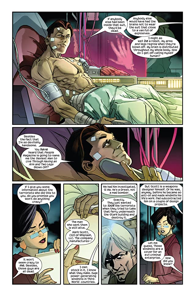 click for super-sized previews of Ultimate Iron Man Vol. 2