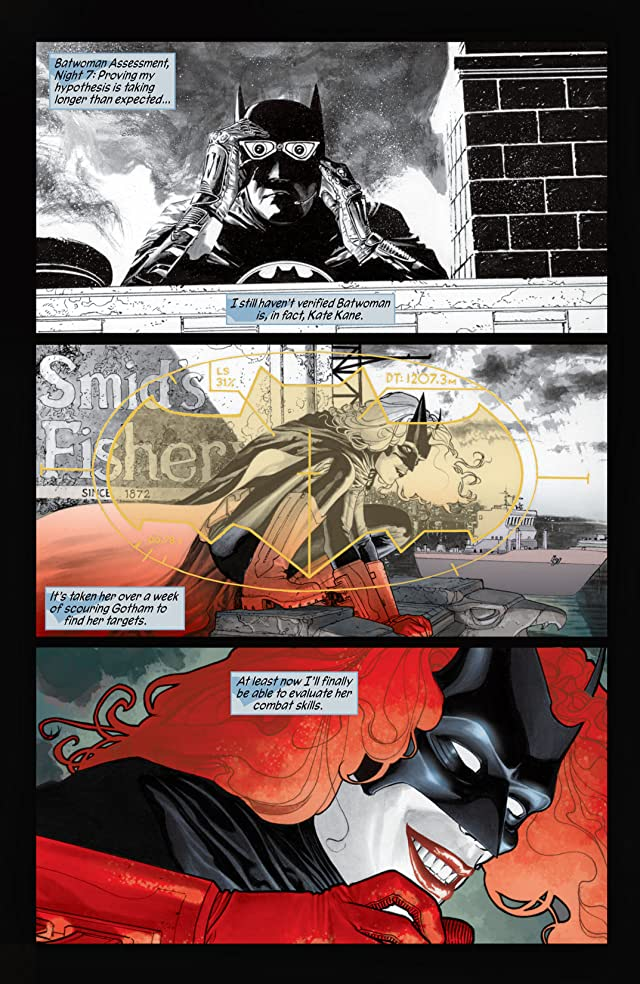 click for super-sized previews of Batwoman (2011-2015) Vol. 1: Hydrology