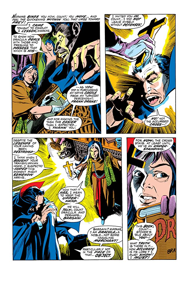 click for super-sized previews of Tomb of Dracula (1972-1979) #4