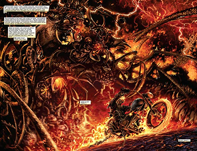 click for super-sized previews of Ghost Rider: Road To Damnation