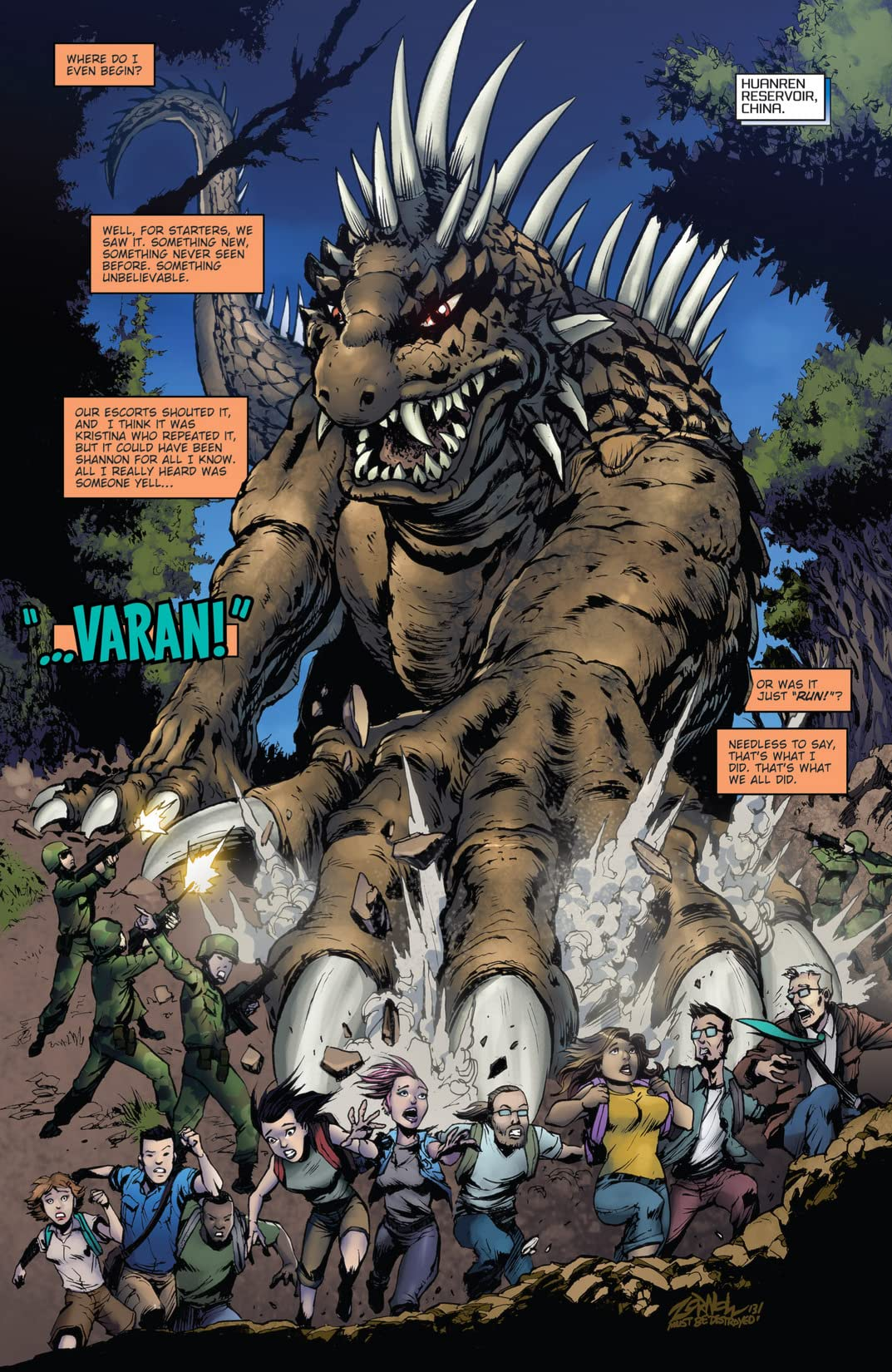 Godzilla: Rulers of Earth #5