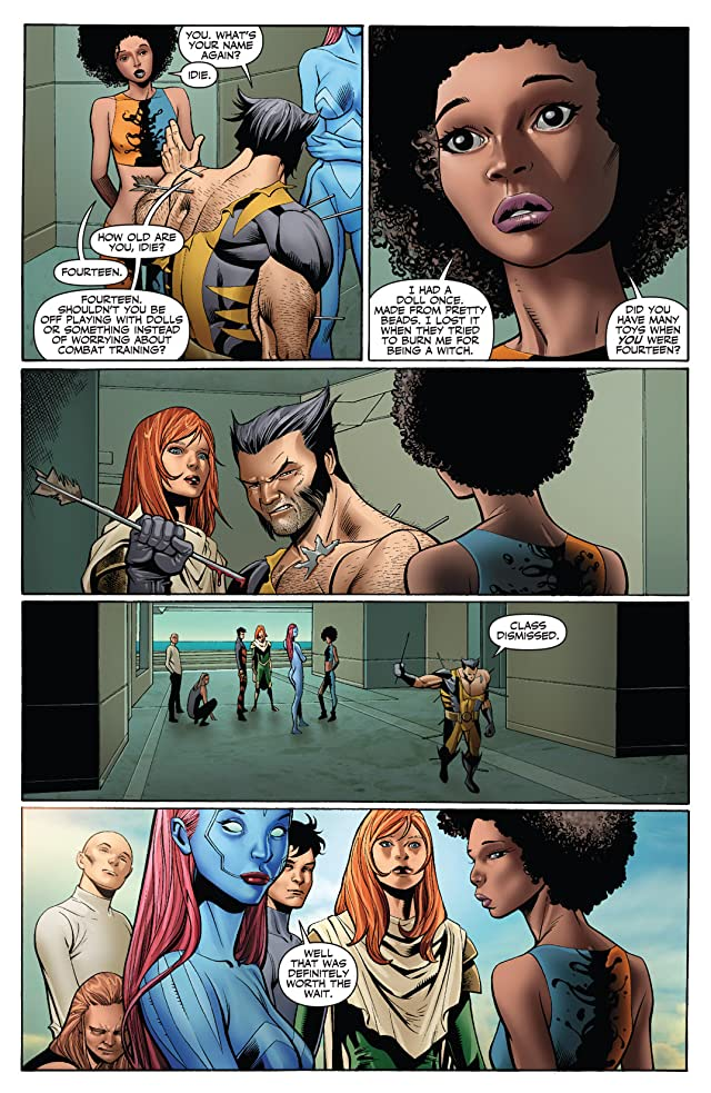 click for super-sized previews of X-Men: Schism