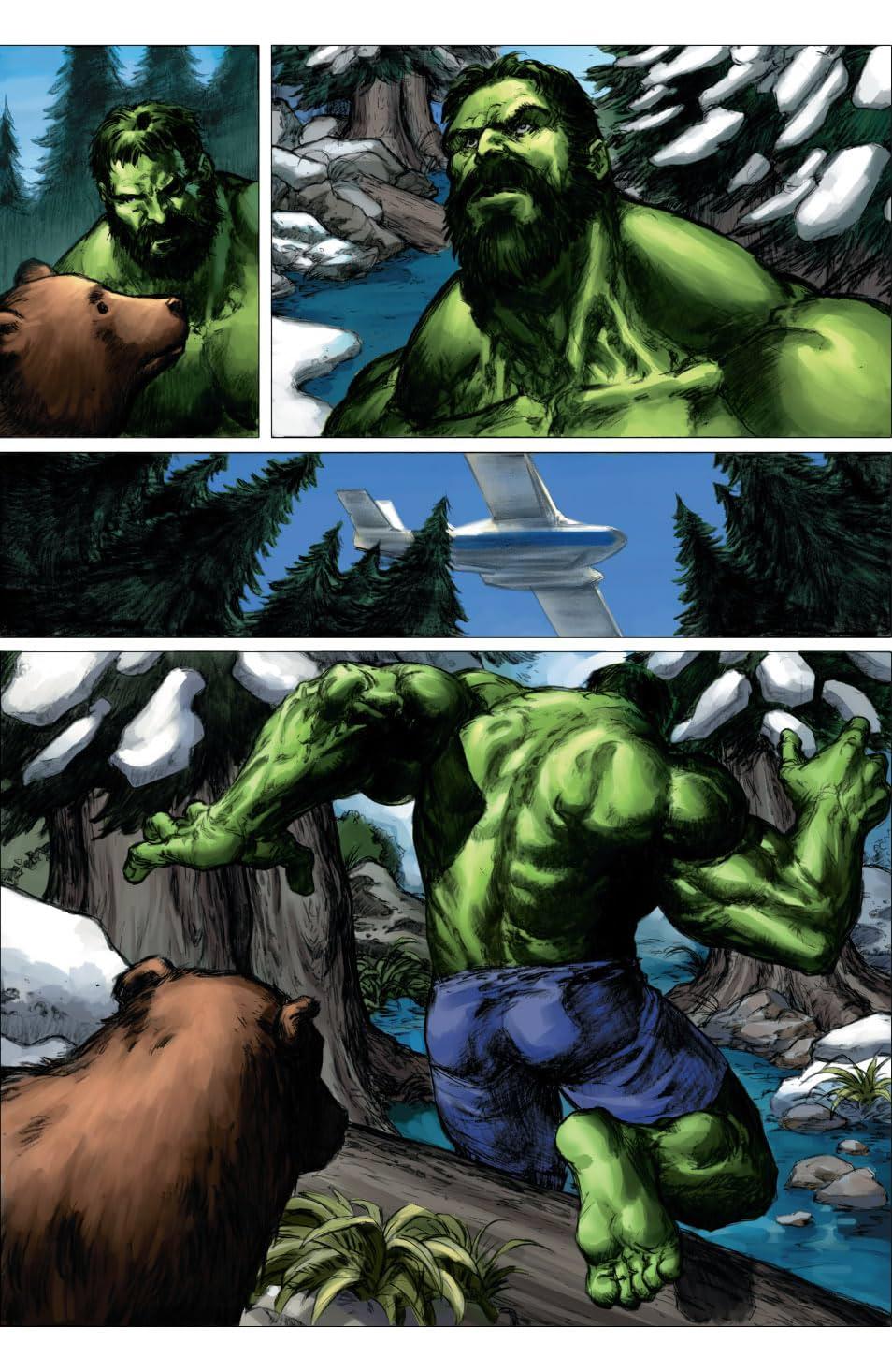 Hulk: Planet Hulk Prelude