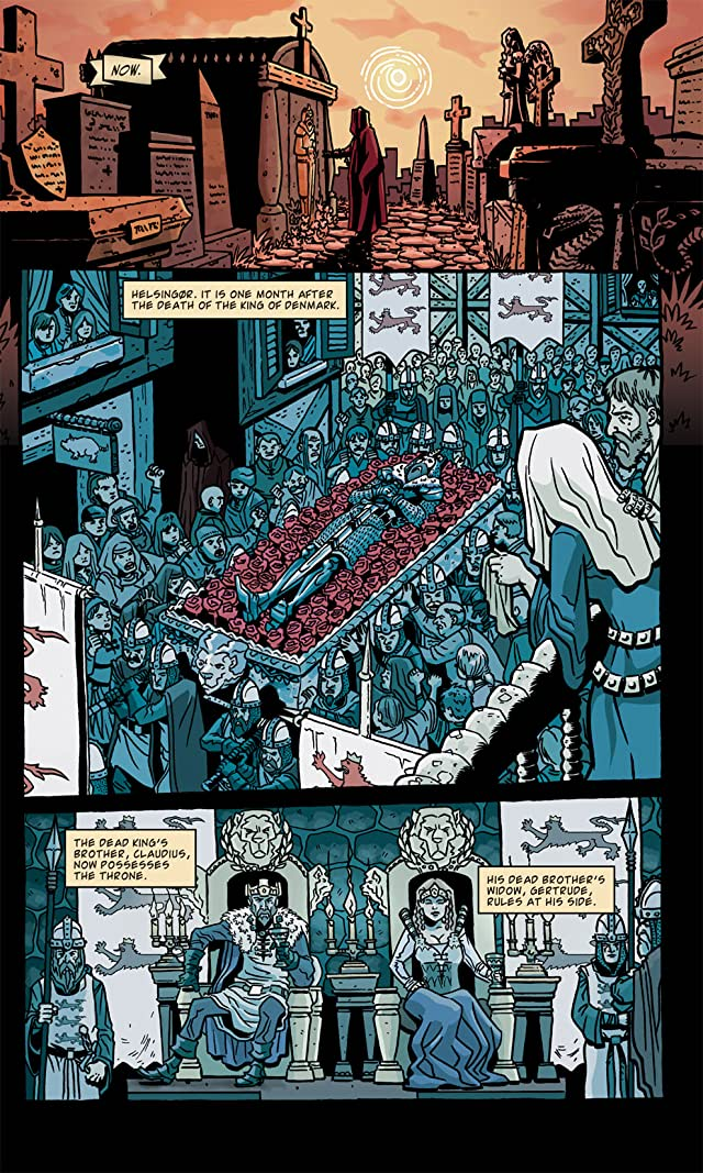 click for super-sized previews of Kill Shakespeare Vol. 1
