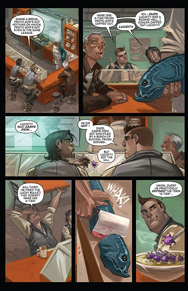 click for super-sized previews of Hawken: Melee #3