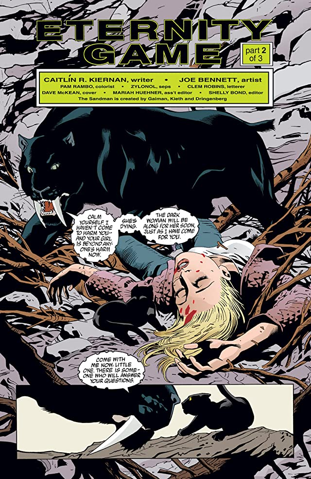click for super-sized previews of The Sandman Presents: Bast #2