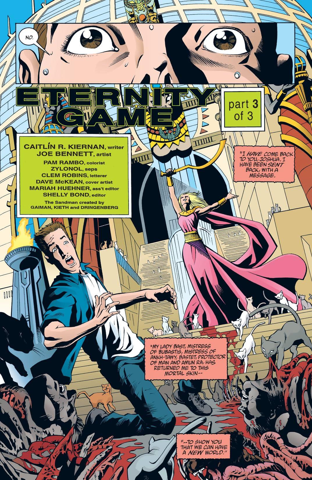 The Sandman Presents: Bast #3 (of 3)