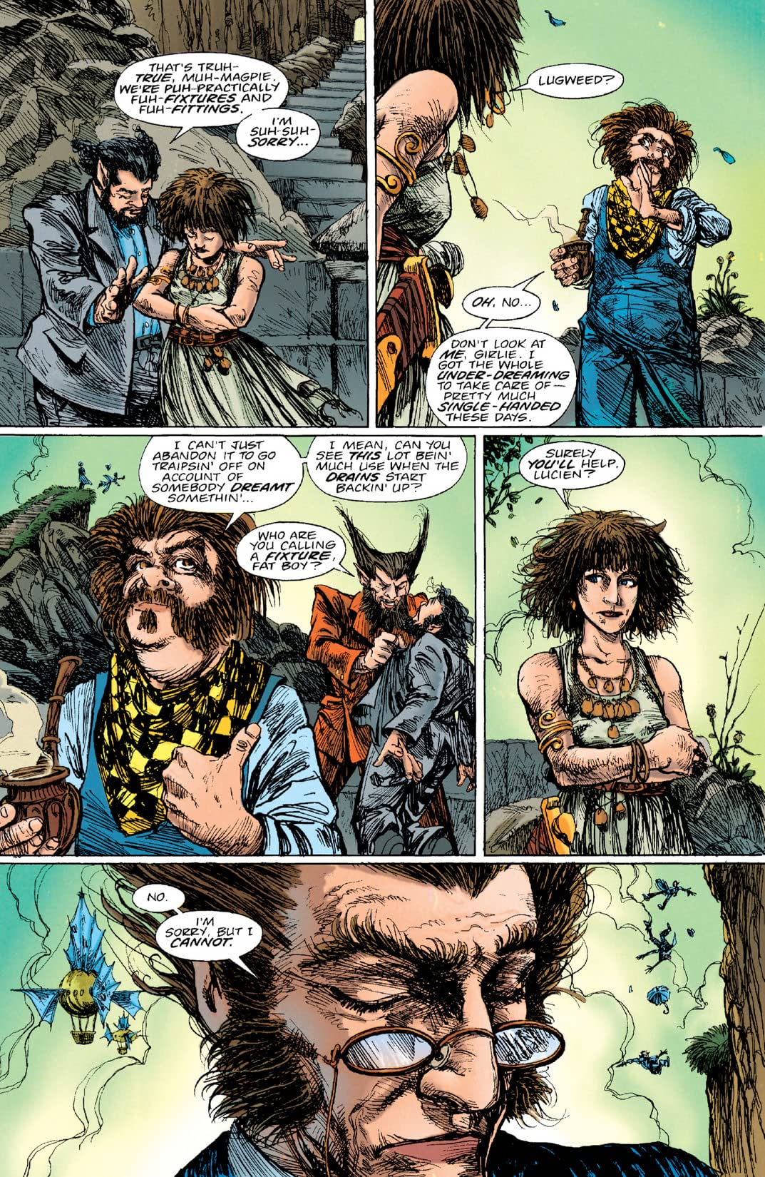 The Sandman Presents: Love Street #2 (of 3)