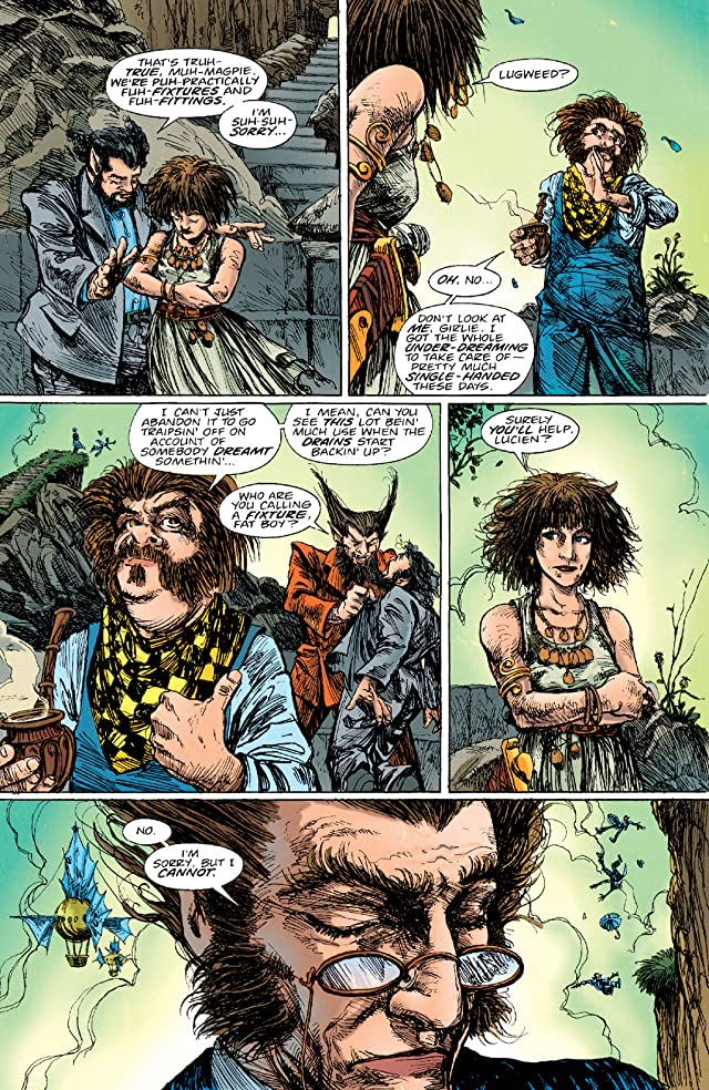 click for super-sized previews of The Sandman Presents: Love Street #2