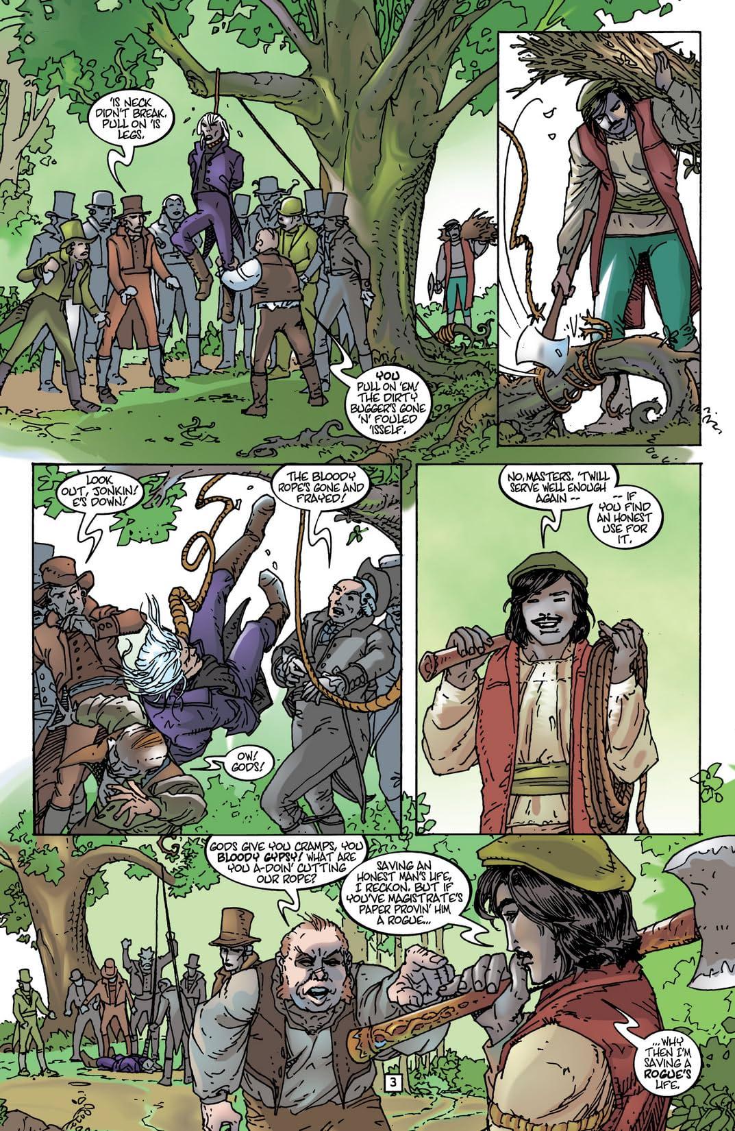 The Sandman Presents: Petrefax #2 (of 4)