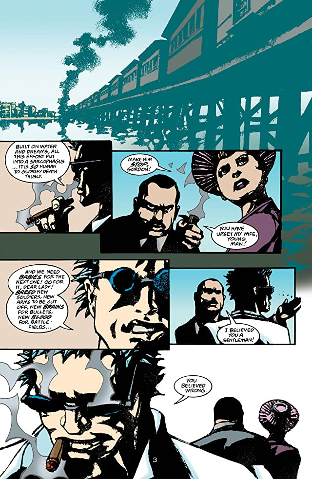 click for super-sized previews of The Sandman Presents: The Corinthian #1