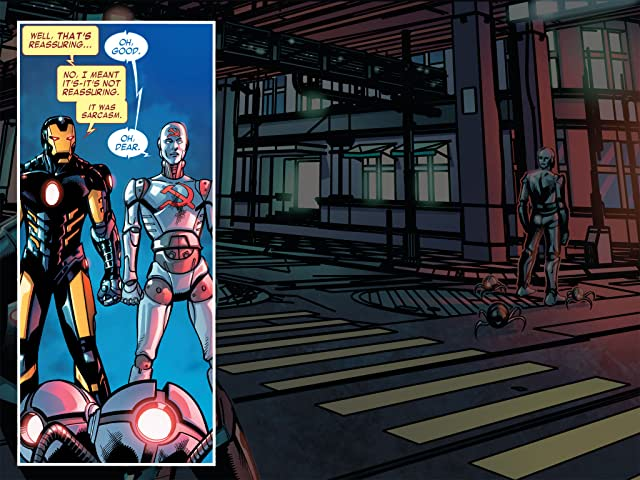 click for super-sized previews of Iron Man: Fatal Frontier Infinite Comic #4