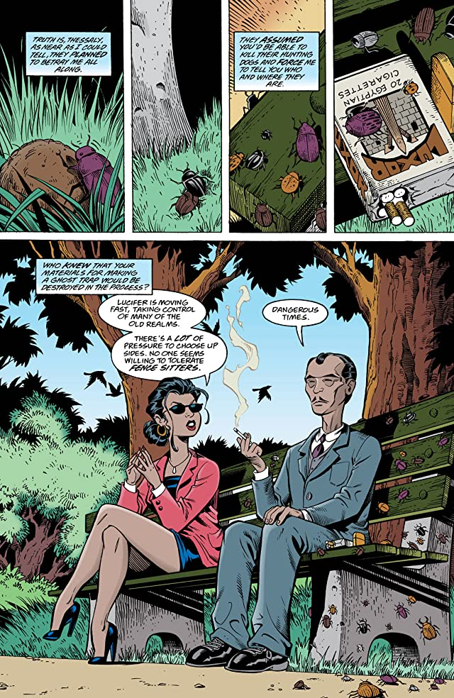 click for super-sized previews of The Sandman Presents: The Thessaliad #2
