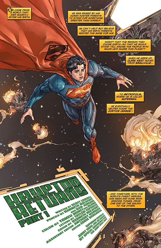 click for super-sized previews of Action Comics (2011-) #2: Annual