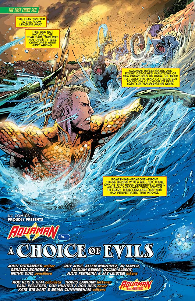 Aquaman (2011-) #1: Annual