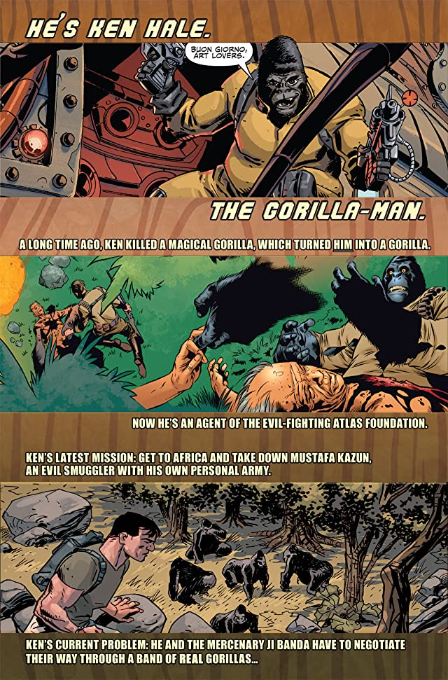click for super-sized previews of Gorilla Man #3