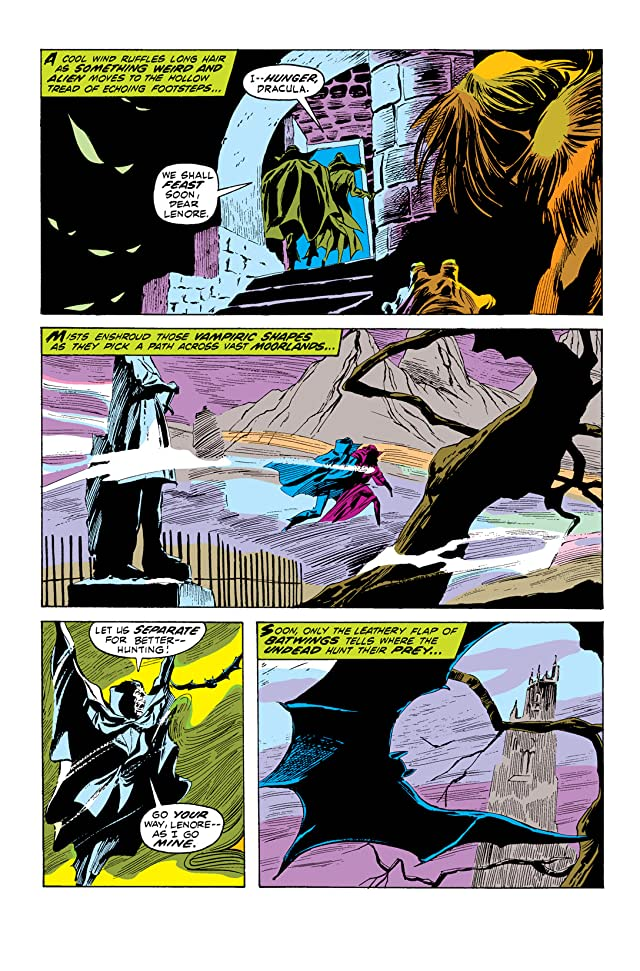 click for super-sized previews of Tomb of Dracula (1972-1979) #6