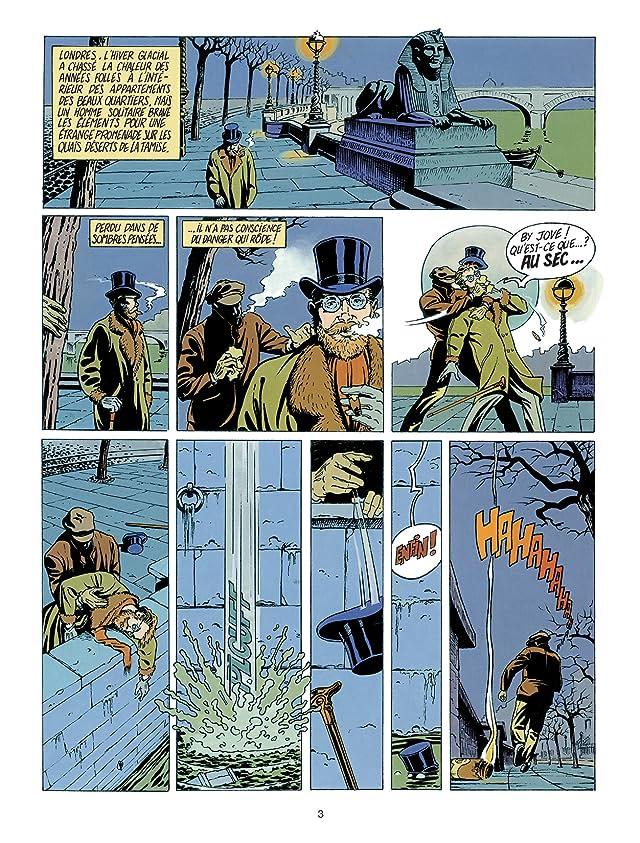 click for super-sized previews of Harry Dickson Vol. 1: L'île des possédés