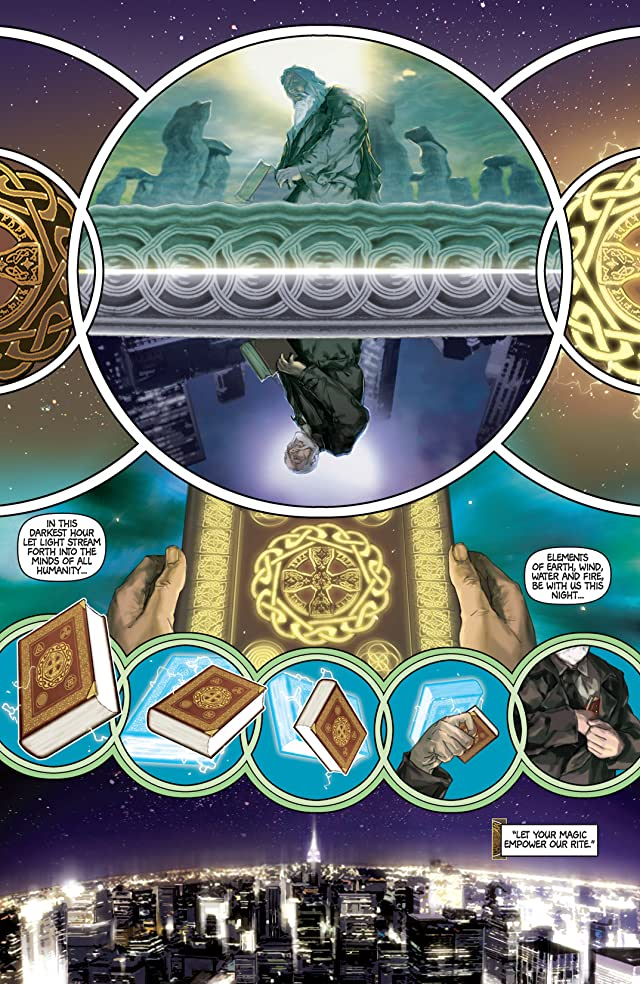 click for super-sized previews of Son of Merlin Vol. 1
