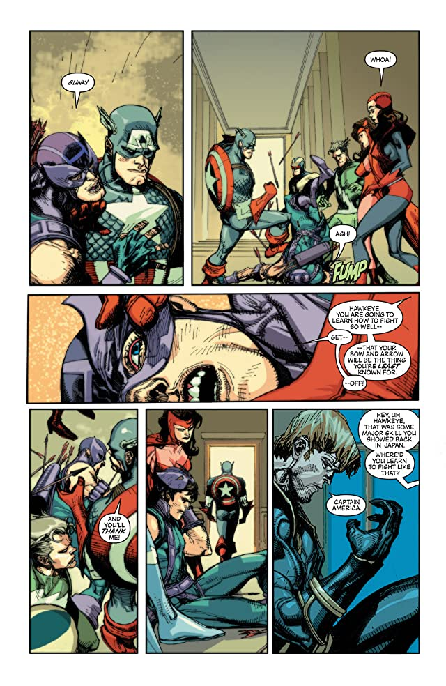 click for super-sized previews of New Avengers Vol. 7: The Trust