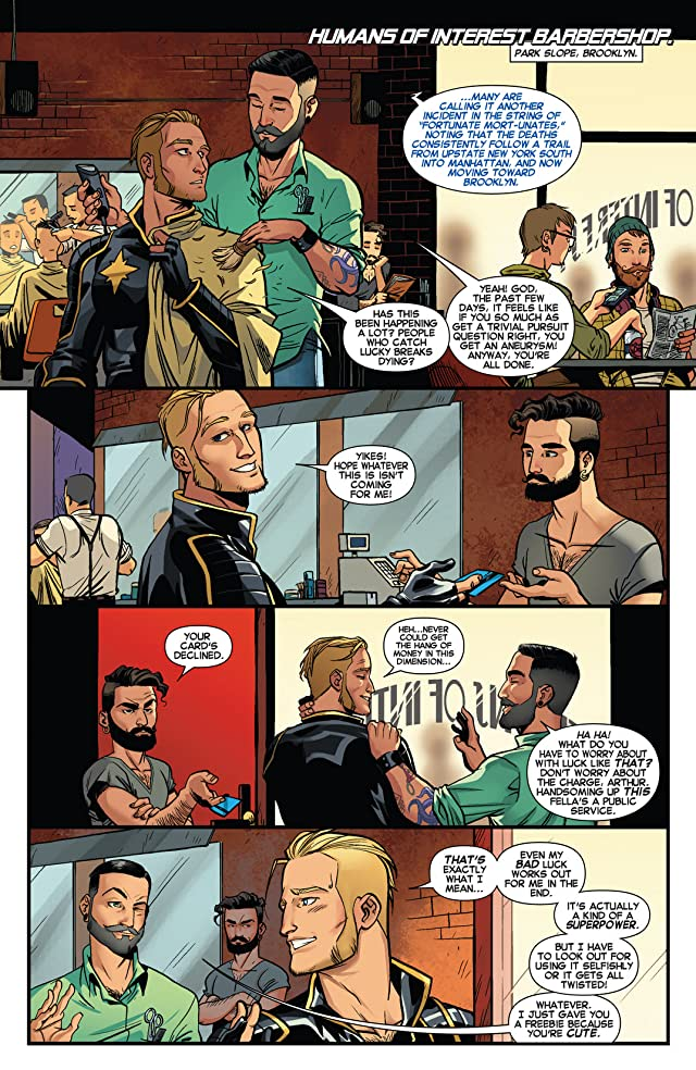 click for super-sized previews of Longshot Saves The Marvel Universe #1 (of 4)
