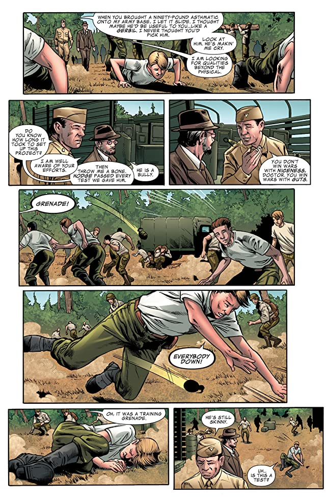 click for super-sized previews of Marvel's Captain America: The First Avenger Adaptation #1