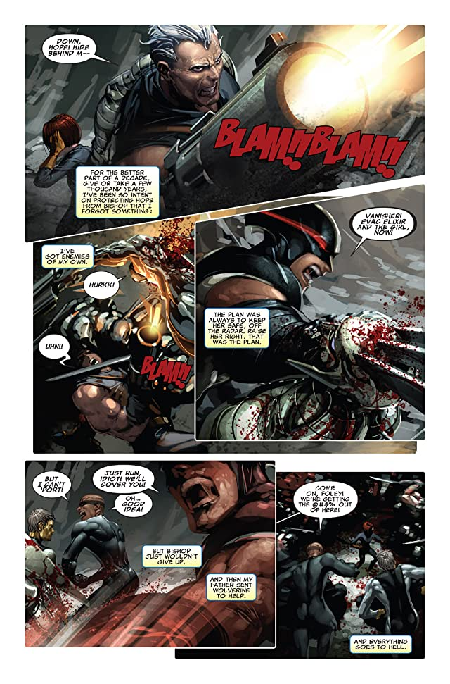 click for super-sized previews of X-Force (2008-2012) #14