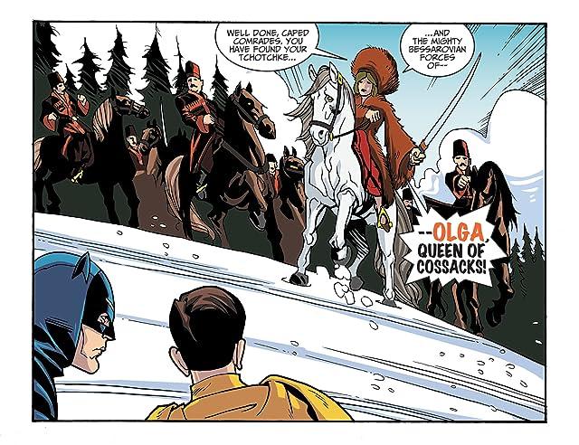 click for super-sized previews of Batman '66 #18