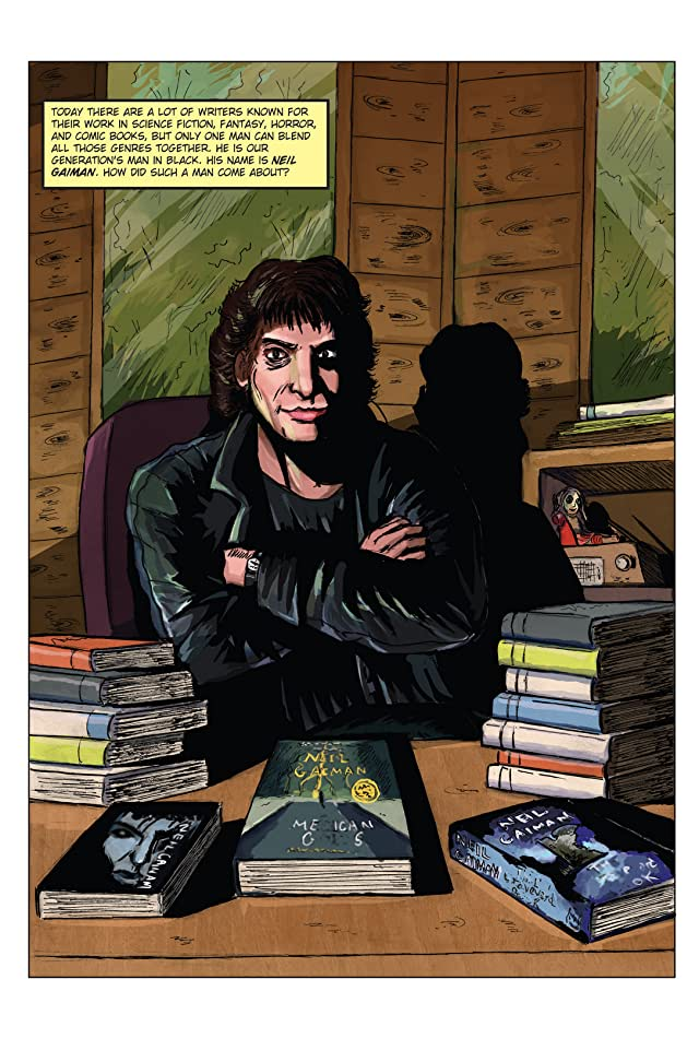 click for super-sized previews of Fame: Neil Gaiman