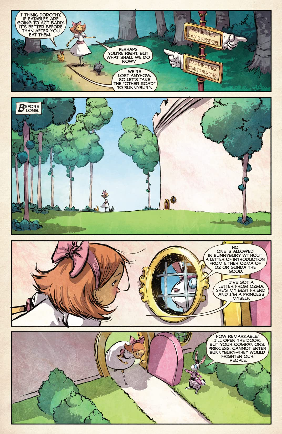 The Emerald City of Oz #4 (of 5)